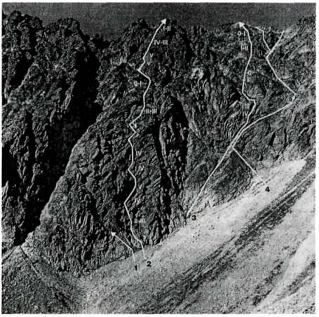 Zdjęcie z Taternika nr 2, 1998 r. - Droga Mączki nr 2