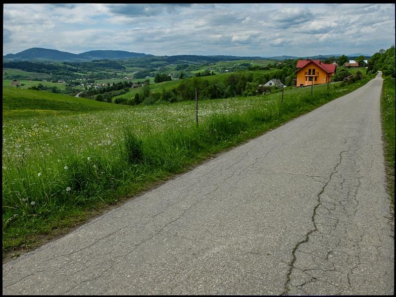 Wysokie Pogórze między dolinami Białej a Dunajcem, to wymarzony teren dla turystyki rowerowej.