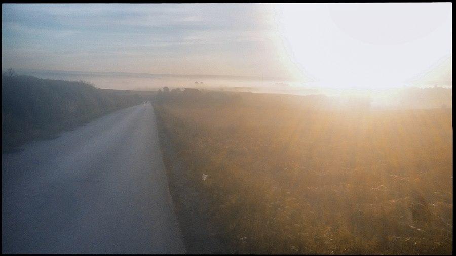 Skąpany w słońcu jeden z wielu garbów Płaskowyżu Proszowickiego.