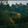 W Nowym Wiśniczu zamek Kmitów i Lubomirskich powoli przyozdabia się w kolory.
