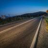 Widoma nad Żegociną, początek ostatniego obowiązkowego segmentu trasy